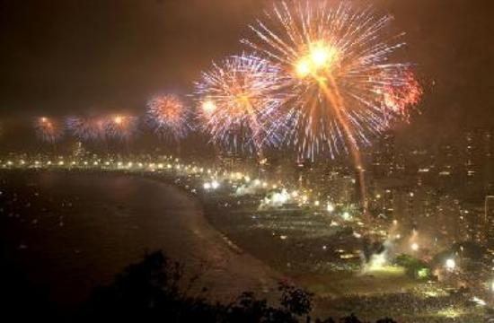copacabana new year's eve concert
