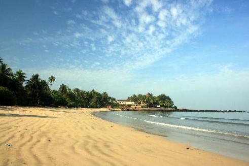 Chivala Beach, photo taken from the compound - Picture of Mayekar's Holiday  Home, Malvan - Tripadvisor
