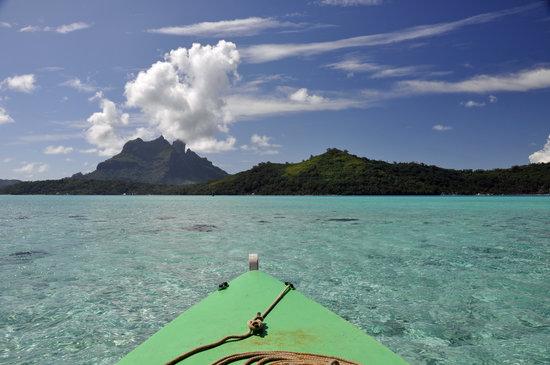 Bora Bora, Polinesia Prancis: Kayaking