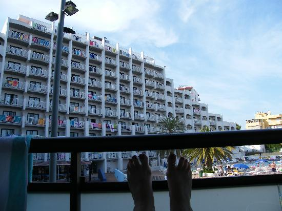 Medplaya Hotel Bali Apartments And Security Lights