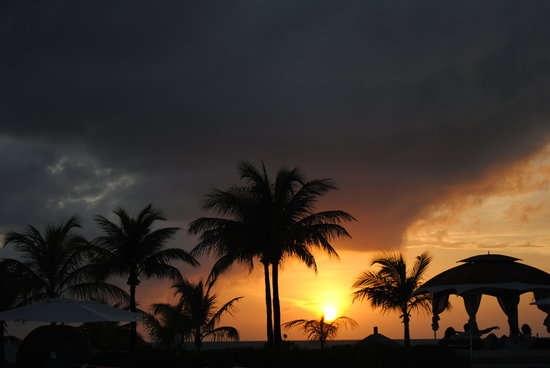 Providenciales: beautiful sunset