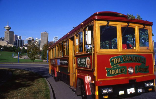 Image result for the vancouver trolley company