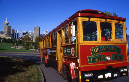 Image result for vancouver trolley company