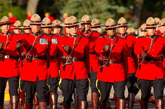 Saskatchewan, Canada: RCMP Sunset Retreat Ceremonies, Regina