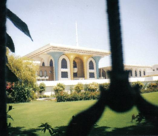 Palace of Sultan Qaboos bin Said in Muscat - Picture of ...