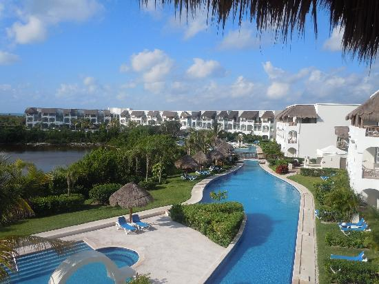 View From Building 6 Of The Swim Up Suites And Lazy River