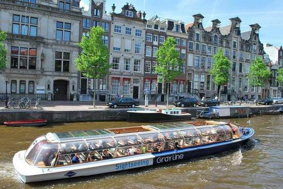 Amsterdam, Canal Boat, Canal Cruise, Boat Rental