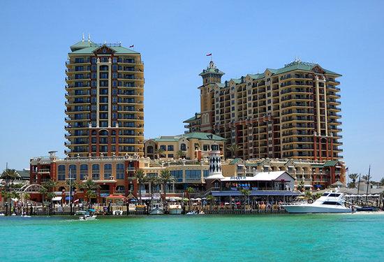 Florida Beach Resort Wyndham Destin Emerald