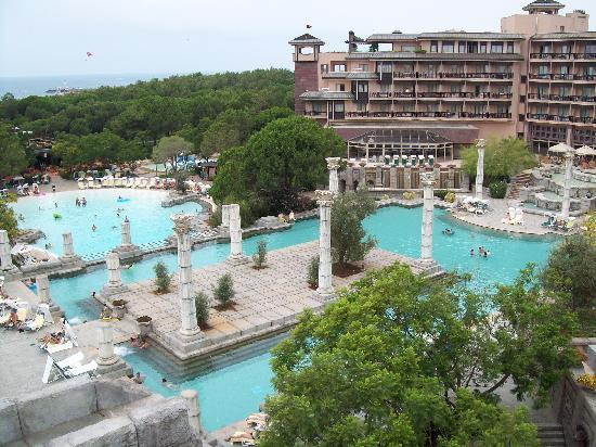 two of the pools - Picture of Xanadu Resort Hotel, Belek ...