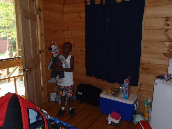 The hosts are very nice and helpful. Our Cabin Picture Of Prospect Mountain Campground Granville Tripadvisor