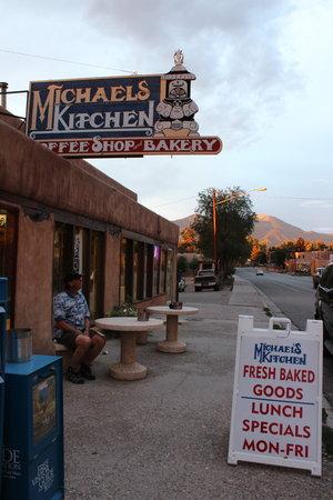 Street Michaels Kitchen Cafe Bakery Taos