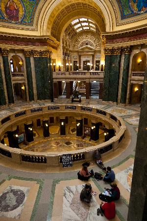 Inside Capitol In Madison WI Picture Of Wisconsin State