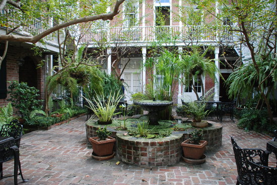 Perfect New Orleans House Plans Courtyard Design