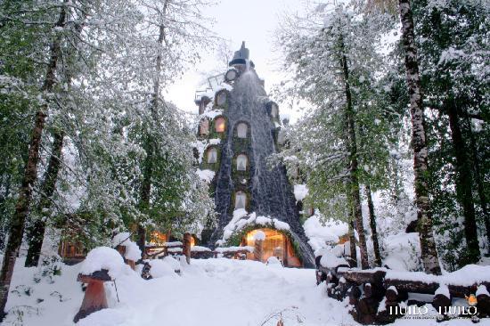 Montana Magica Lodge: Montaña Mágica Lodge en Invierno
