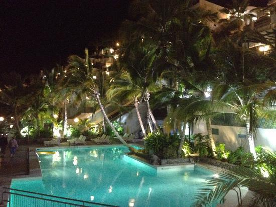 Hotel Altamar B Pool At Night