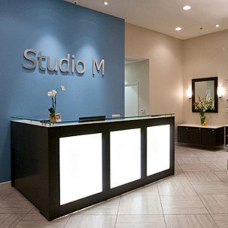 studio m salon and spa reception area picture of studio m salon and spa palm springs