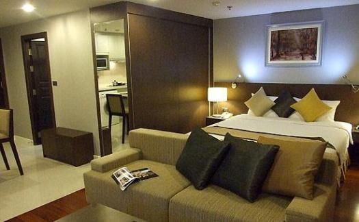 Quart Room In Baiyoke Suite Hotel In Bangkok