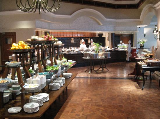 The buffet - Picture of The Dining Room at Grand Hyatt ...