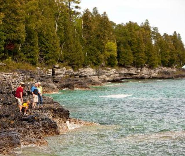 Door County Wi Cave Point County Park Photo By Mike Roemer