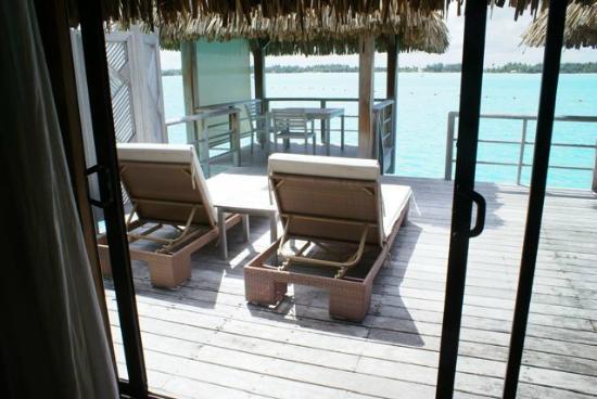 Bungalow deck - Picture of The St. Regis Bora Bora Resort ...