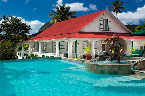 La Dauphine Estate & Villa Beach Cottages - Soufrière