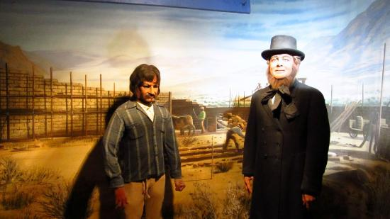 Wax museum part - Picture of Bonnie Springs Old Nevada ...