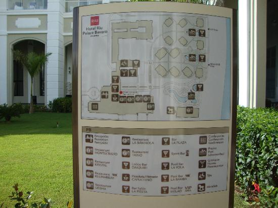 Can Riu Map Palace Punta Bavaro
