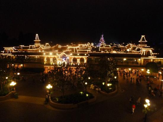 View From Castle Club Balcony For Disney Dreams Picture