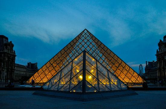 The Louve At Dusk Picture Of Photo Tours In Paris Paris