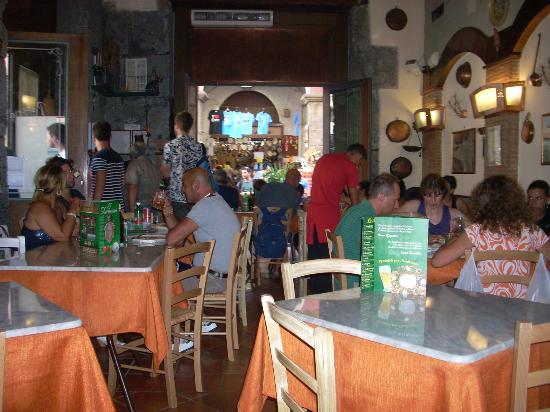 Decumani pizzeria neapolitan naples italy