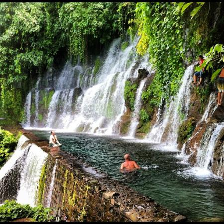 Chorros de la Calera: one of the swimming holes with the jump