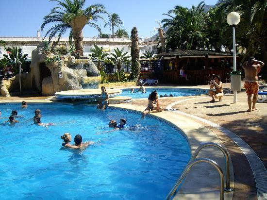 hotel port denia piscina
