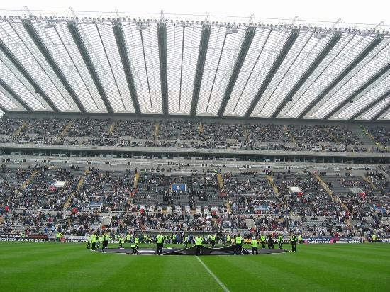 Milburn Stand On Match Day Picture Of St James Park