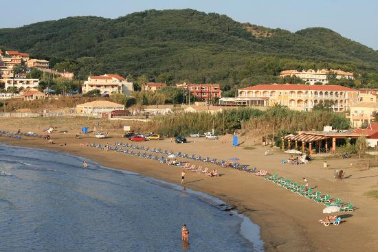 San Stefanos beach - lovely - Picture of Athina, Corfu ...