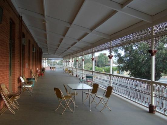 Palace Hotel veranda - Picture of Mario's Palace Hotel, Broken Hill