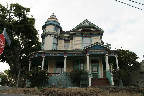 Angelino Heights Historic Area Los Angeles Ca On