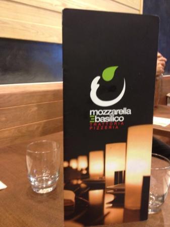 Mozzarella e Basilico: menù