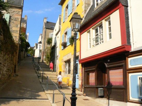 Les Venelles De Morlaix Finistre Bretagne Photo De