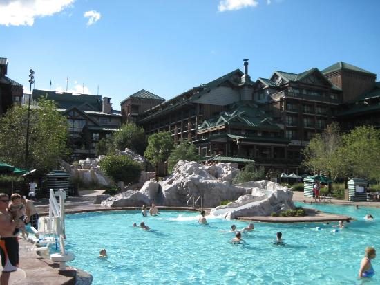 Pool Area Picture Of Villas At Disneys Wilderness Lodge