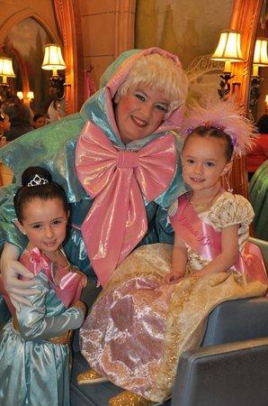 Fairy Godmother Approves Picture Of Bibbidi Bobbidi