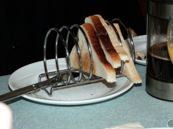 Toast rack!  - Picture of The Harbour Inn B&B and Grill, Larne