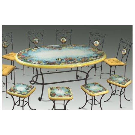 Scegli il tuo tavolo da giardino in ceramica deruta! Tavoli In Ceramica Foto Di Ceramiche Torretti Visita Alla Lavorazione Della Ceramica Artistica Deruta Tripadvisor