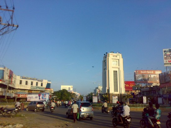 ANANTAPUR TOWER CLOCK   Picture of Anantapur  Anantapur District     ANANTAPUR TOWER CLOCK