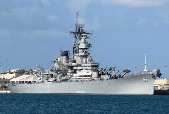 Ballistic artery - Picture of Battleship Missouri Memorial ...