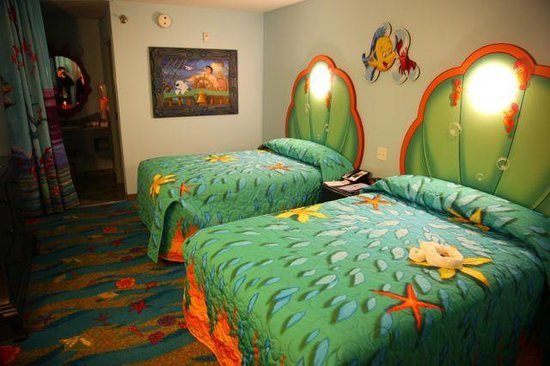 Little Mermaid Room Picture Of Disneys Art Of Animation