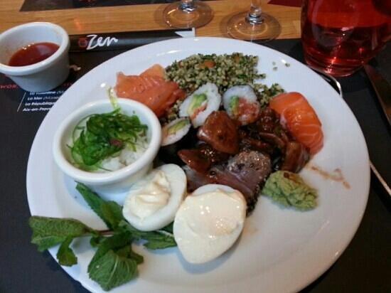 O Zen Le Passage Aix En Provence Restaurant Reviews
