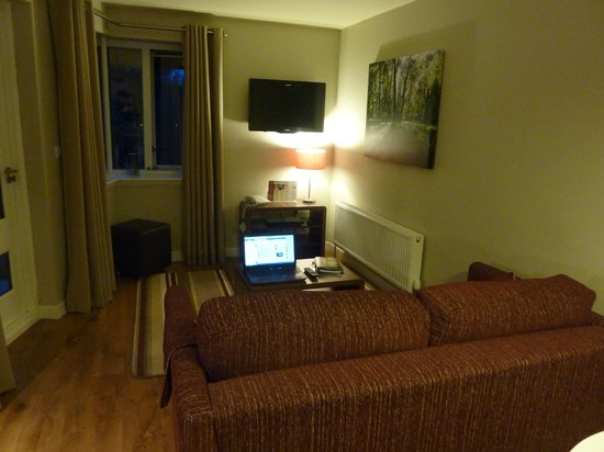Center Parcs Whinfell Forest Lounge Area In Lakeside Apartments