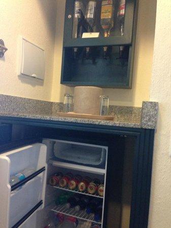 In Room Bar Picture Of Hotel Riu Emerald Bay Mazatlan