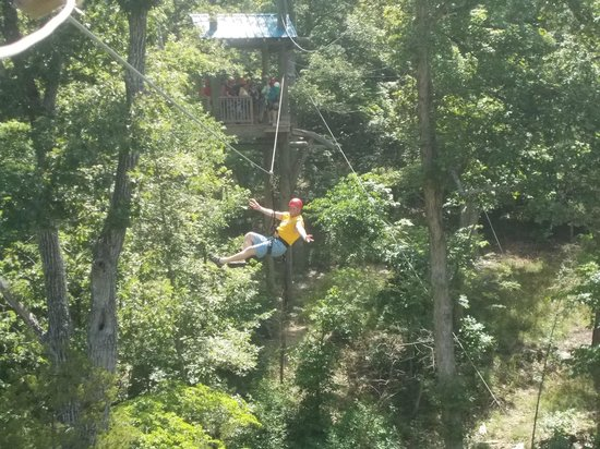 Free Fall Picture Of Branson Zipline And Canopy Tours