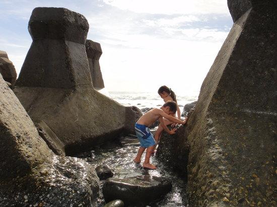 海邊戲水 - 壽豐十二號橋空間民宿 的圖片 - TripAdvisor